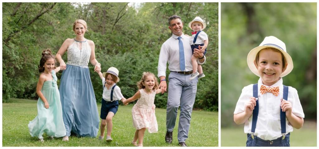 Regina Family Photographer - Dumont Family - Wascana Park - Vow Renewal