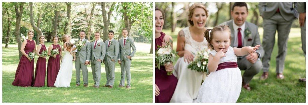 Regina Wedding Photographer - Andrew-Stephanie- Flower Girl
