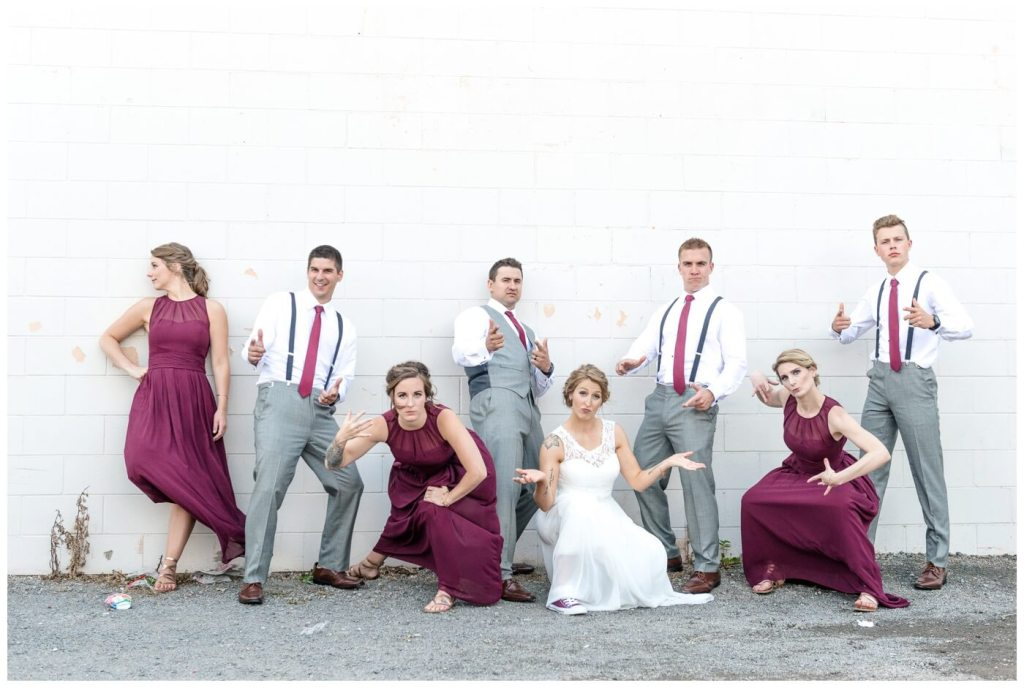 Regina Wedding Photographer - Andrew-Stephanie - Milky Way - Tough Bridal Party