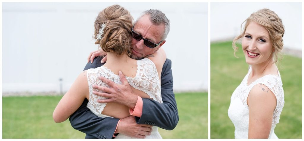 Regina Wedding Photography - Andrew-Stephanie- First look with dad