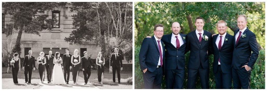 Regina Wedding Photography - Cory-Kelsey - Bridal Party Formals - Wascana Park