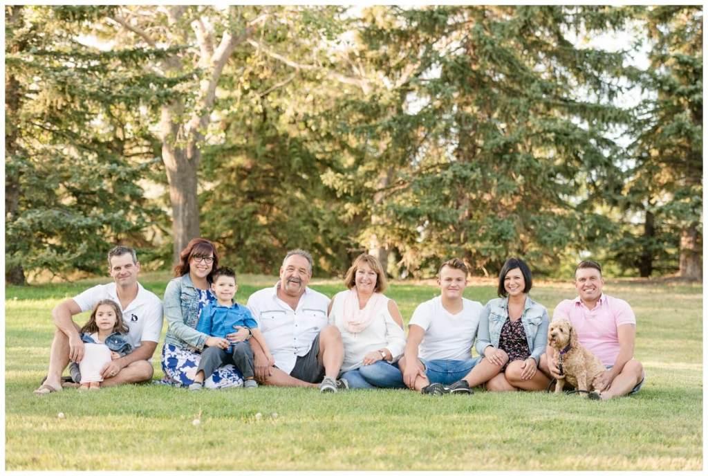 Regina Family Photography - Storz Family - Sitting in Lakewood Park
