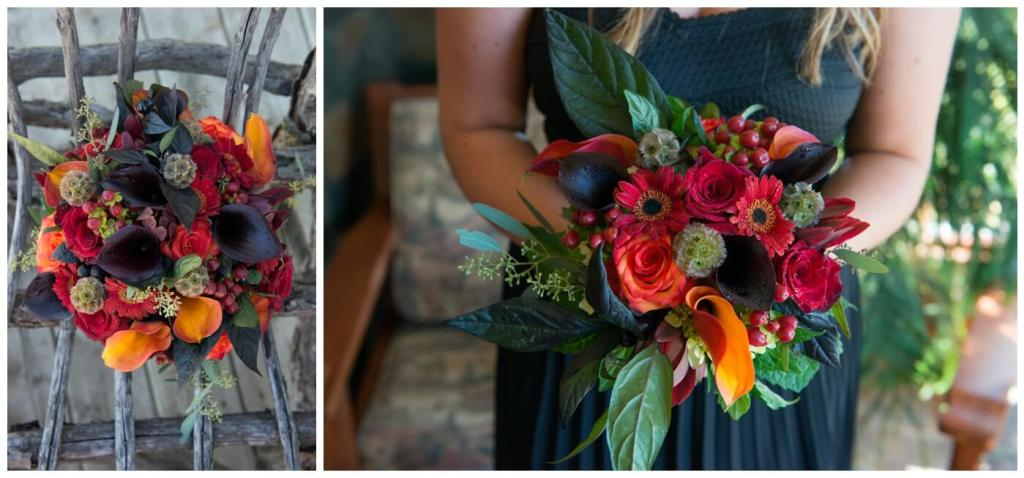 Regina Wedding Photographer - Blooms by Alison - Gales Florist - Fall Wedding Floral Arrangement