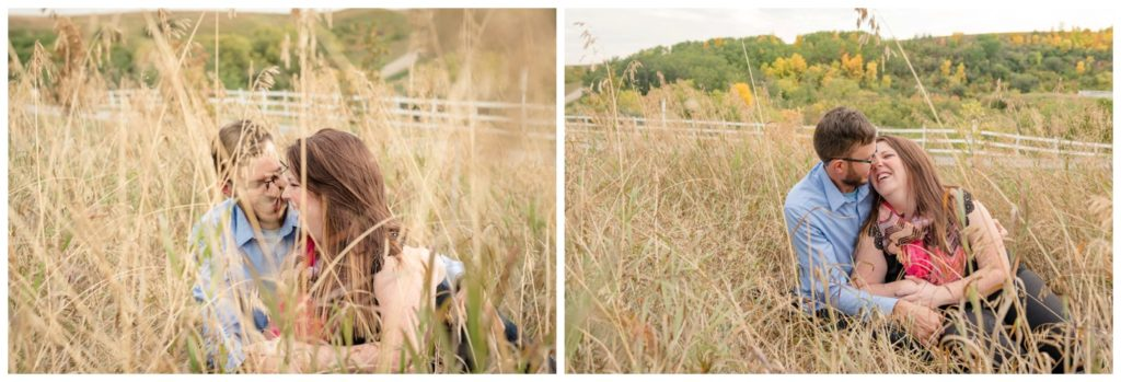 Regina Wedding Photographers - Allie-Nathan - Fall Valley Engagement