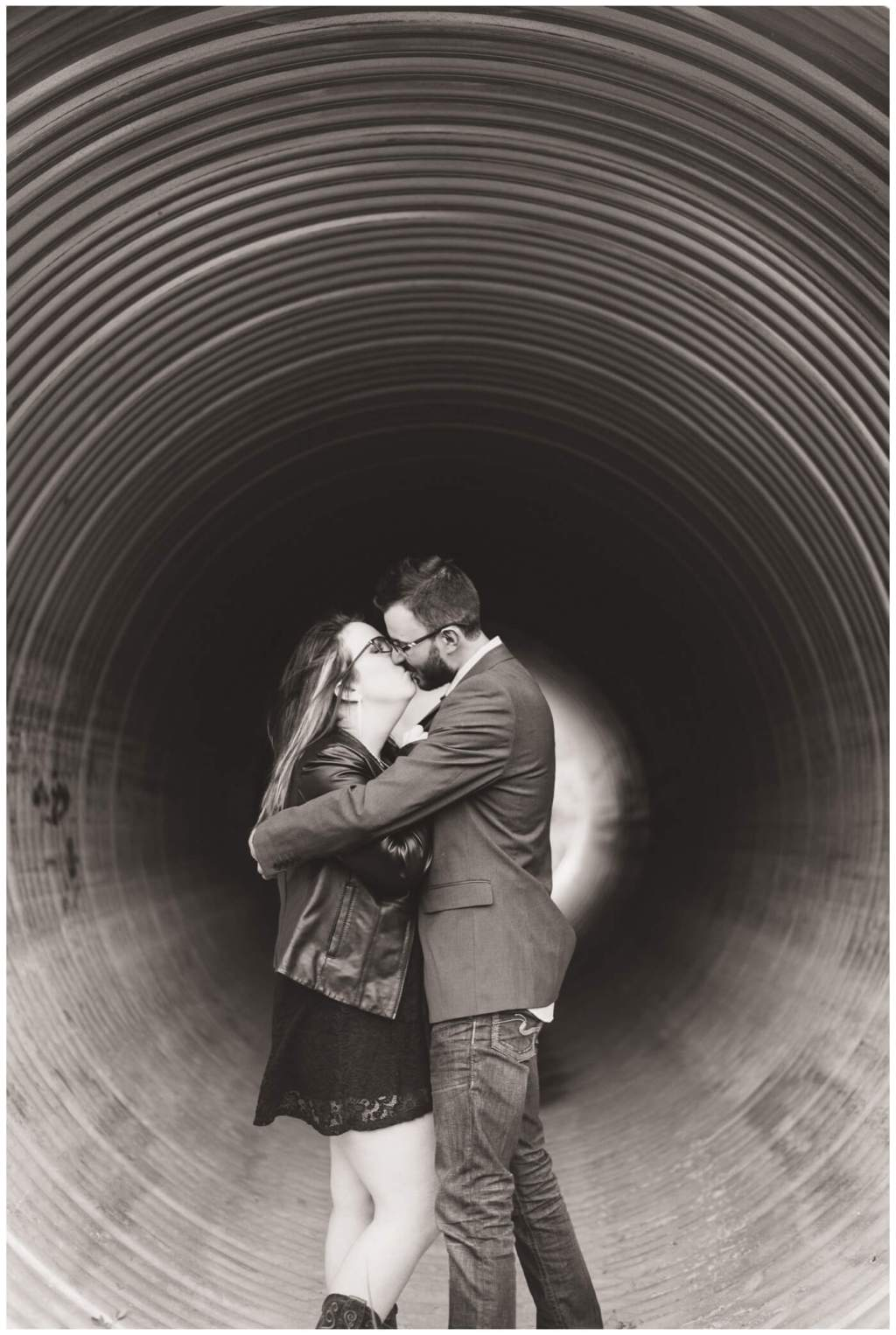 Regina Wedding Photography - Allie-Nathan - Deer Valley Engagement - Culvert