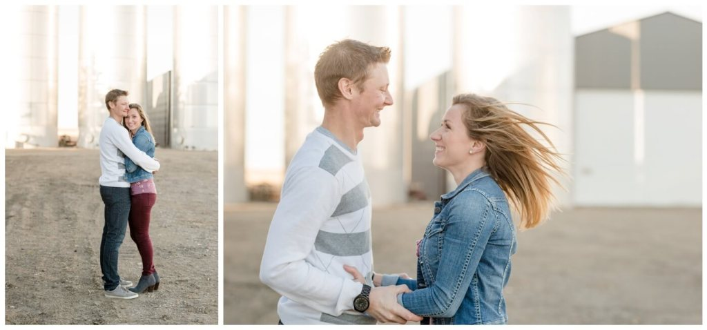 Regina Family Photographers - Neufeld Family - Mike-Tamzyn - Fall Family Session - Farmyard - Waldheim