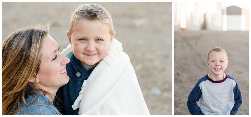 Regina Family Photography - Neufeld Family - Tamzyn-Elias-Lucas - Fall Family Session - Farmyard - Waldheim