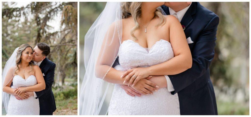 Regina Wedding Photographers - Laurie - Destiny - Fall Wedding - TC Douglas Building - Navy Suit - Mermaid Gown - Morilee by Madeline Gardner