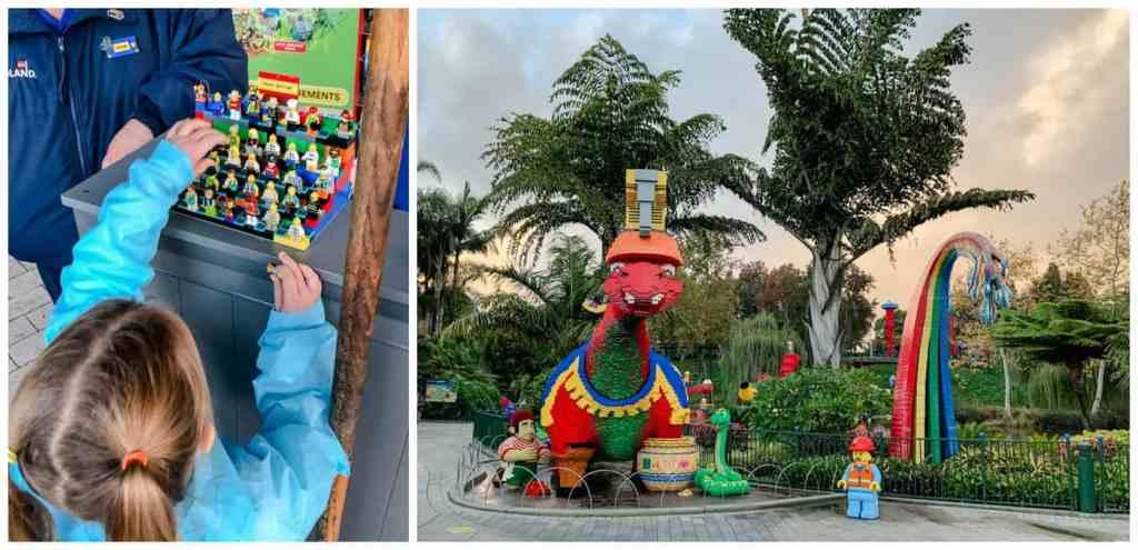 Regina Family Photography - Legoland California - Liske Family Travels - Lego Creations - Mini-figure Trading