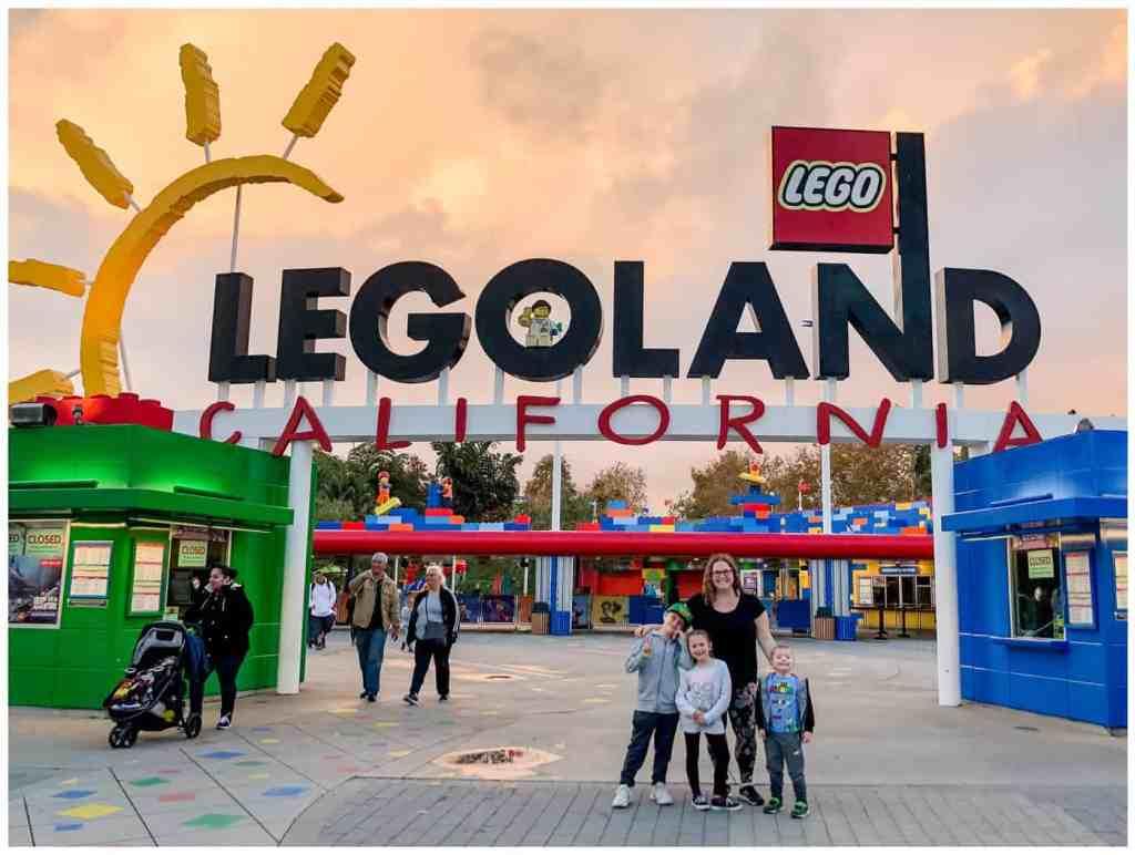 Regina Family Photography - Legoland California - Liske Family Travels - Legoland California Main Gate