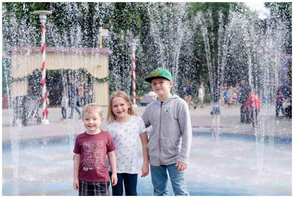 Regina Wedding Photography - Legoland California - Liske Family Travels - Legoland - Heartlake City Fountain