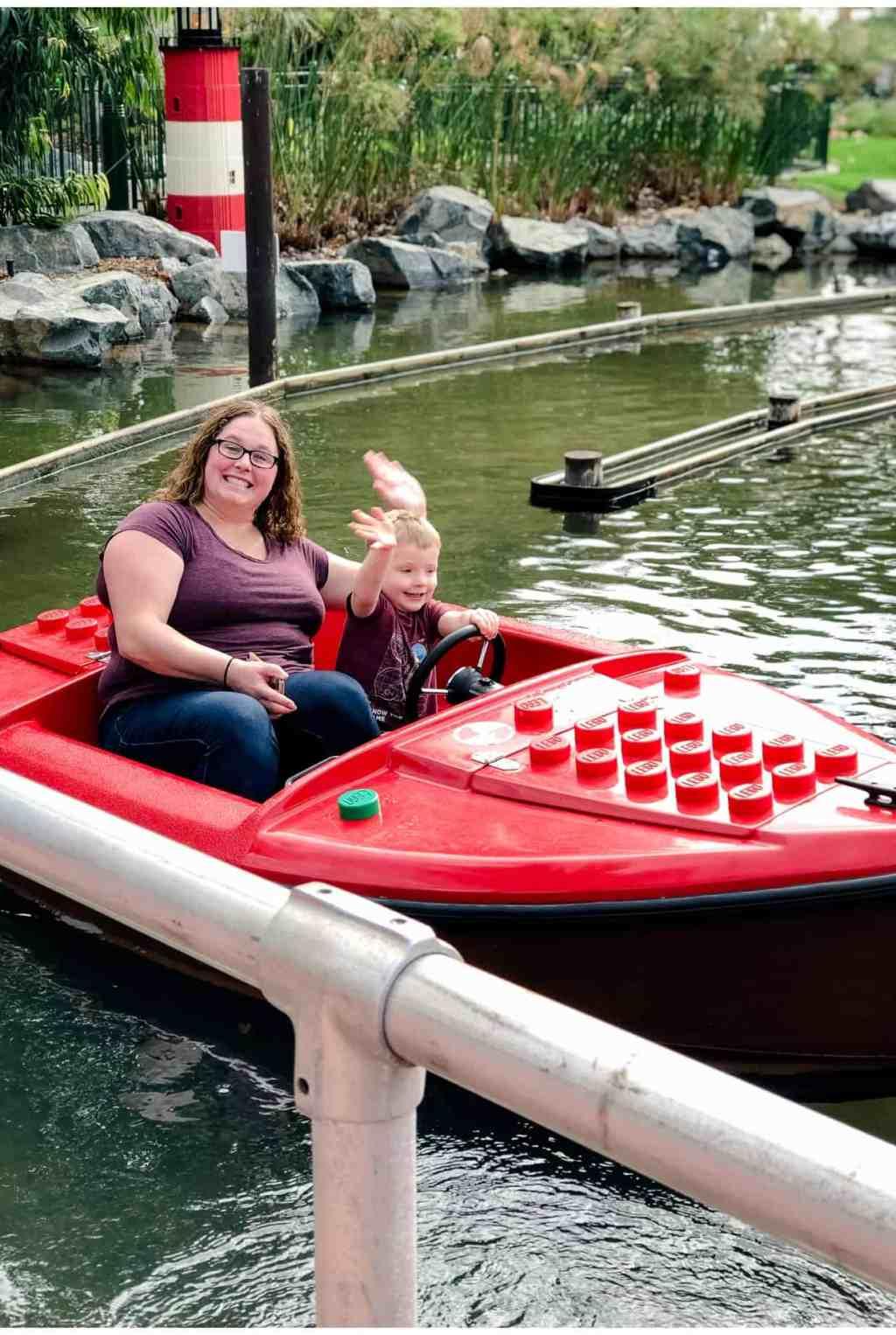 Regina Wedding Photography - Legoland California - Liske Family Travels - Legoland - Lego boats