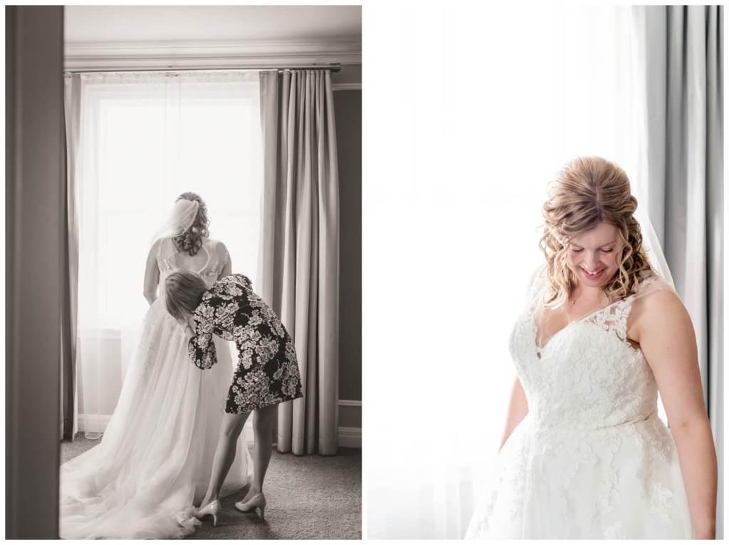 Regina Wedding Photographer - Dave - Sarah - Wedding - Hotel Saskatchewan - Bridal Prep - Saskatchewan Wedding