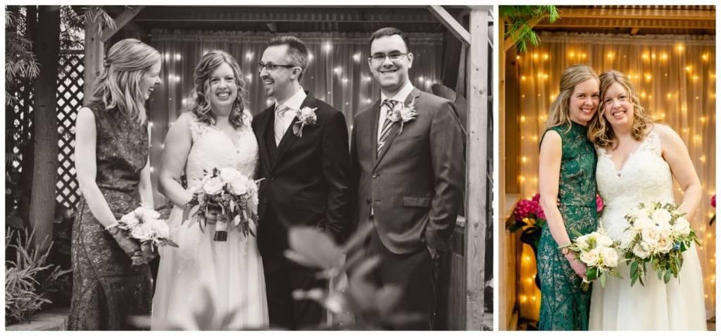 Regina Wedding Photographers - Dave - Sarah - Wedding - Regina Floral Conservatory - Bridal Party - Matron of Honour