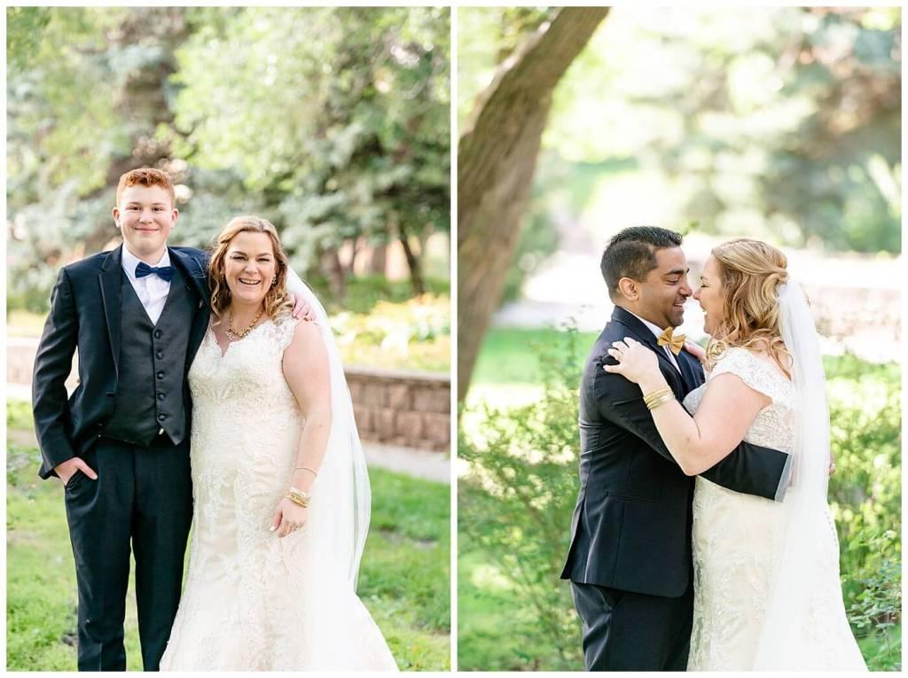 Regina Wedding Photographers - Nishant - Corrina - Bridal Party Portraits - Regina Kiwanis Park - Mother & Son