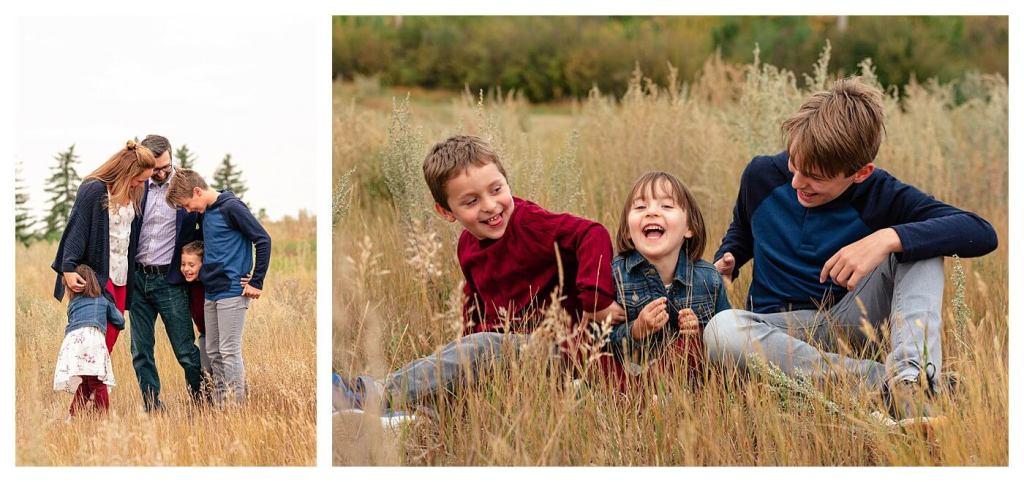 Schlamp Family 2020 - 004 - Regina Family Photographer - Family laughing