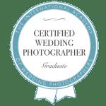 Certified International Wedding Photographer