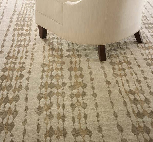 silk and wool rug, contemporary rugs