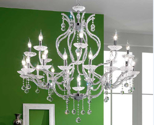 chandelier height
