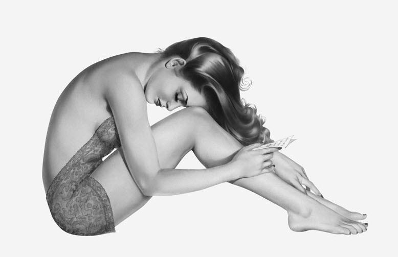 Female Model Retro Photography