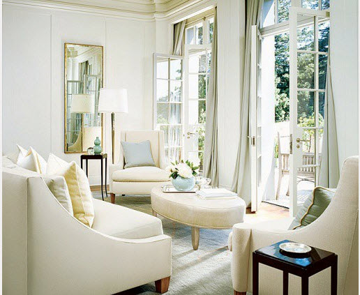 white interior BARBARA BARRY