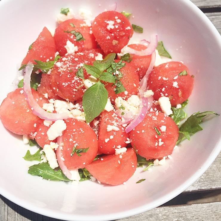 Watermelon + Feta Salad