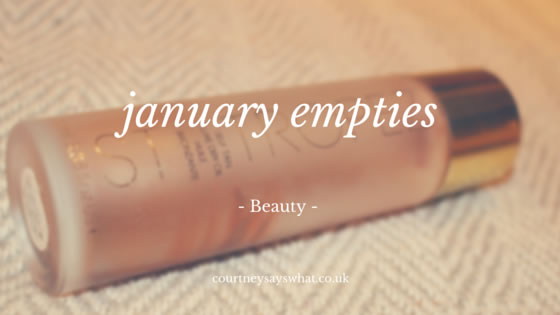 January Empties – Worth The Hype?