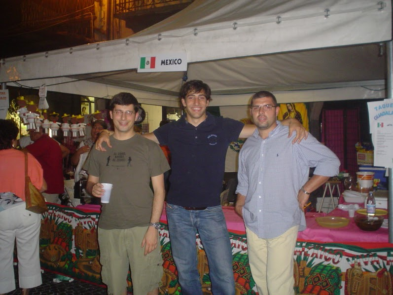 Eating Mexican at Culture del Cuneo, Italy