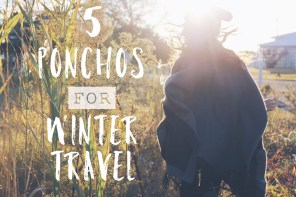 ponchos for winter travel