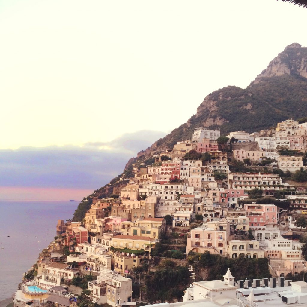 Pantone's Color of the Year 2016 Positano Italy