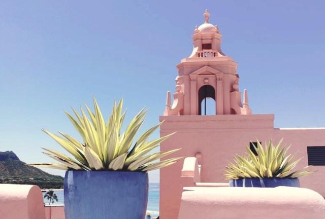 Pantone's Color of the Year Royal Hawaiian Hotel