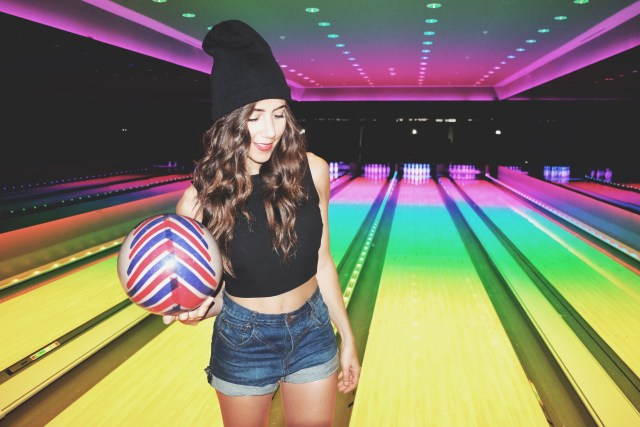 Bowling in Miami Beach Edition Basement
