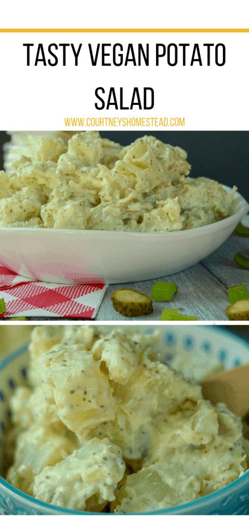 Delicious Vegan Potato Salad