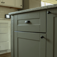 How to paint Ikea Cabinets