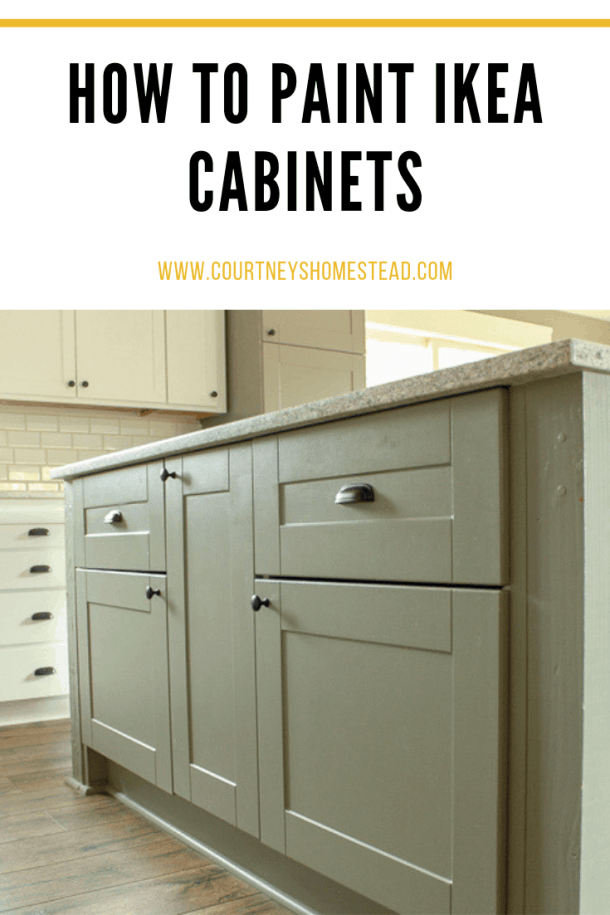 Painting Ikea Cabinets- Courtney\'s Homestead