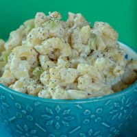 Vegan Hawaiian Mac Salad