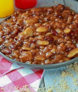 The best Vegan Calico Beans