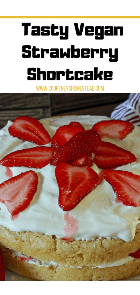 Tasty Vegan Strawberry Shortcake