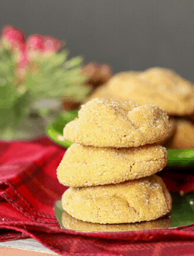 Delicious Vegan Ginger Molasses Cookies