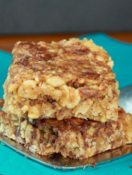Vegan Rice Krispie Granola Bars
