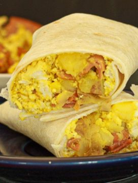 Easy Vegan Breakfast Burritos