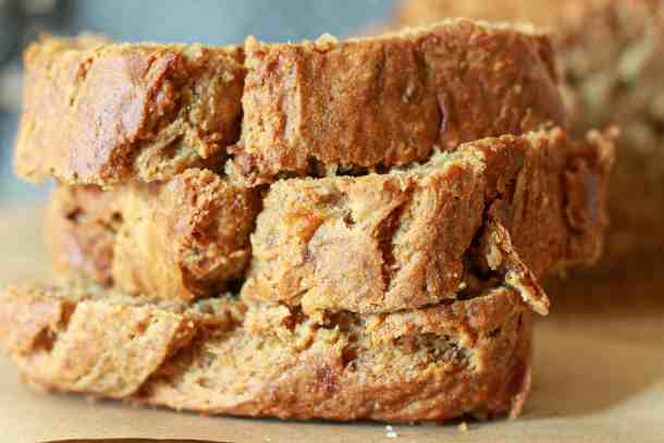 Easy Vegan oil-free Banana Bread
