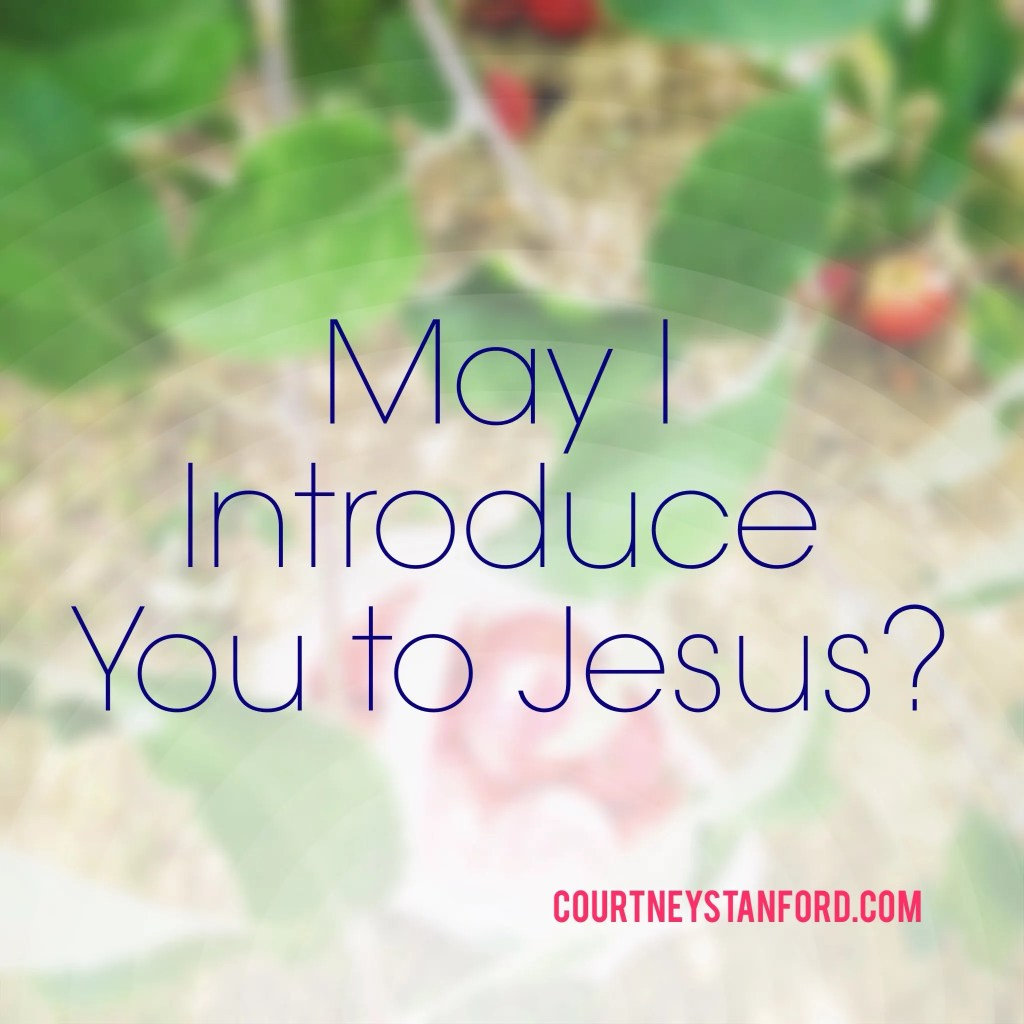 May I Introduce You to Jesus?