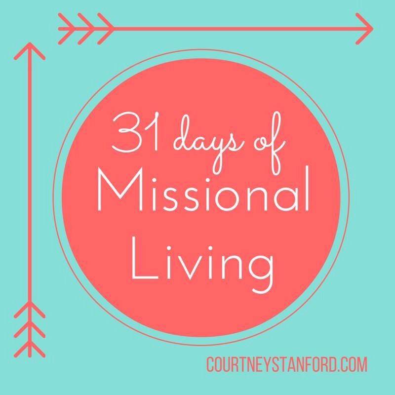 Missional Living: An October Series