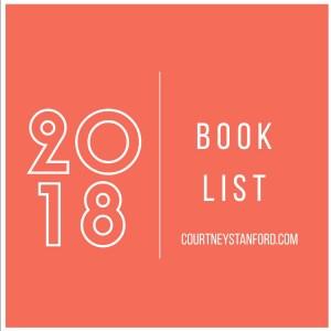 2018 book list