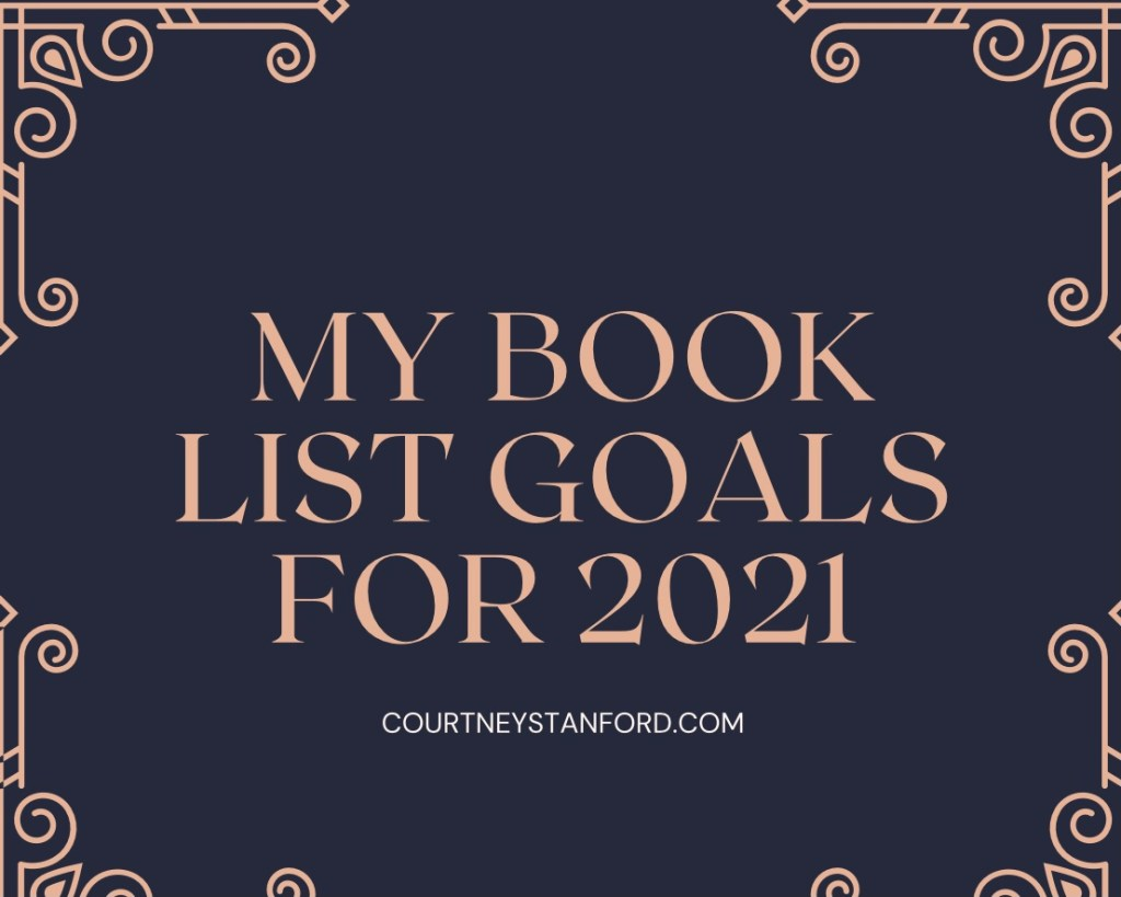 My Book List Goals for 2021