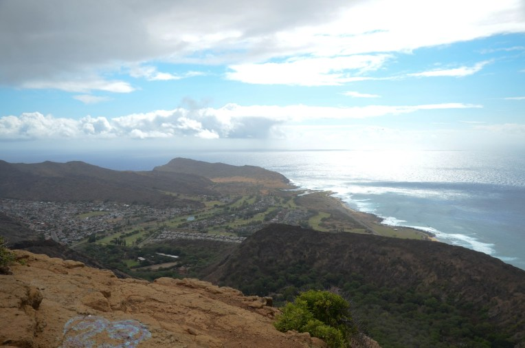 View from Koko Head Crater