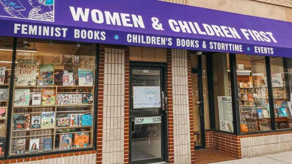 Women & Children First - shop local, queer-owned chicago businesses