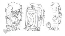 Sardine Phalanx turnaround | Pencil & Digital, 2014