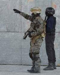 Counterterrorist soldiers